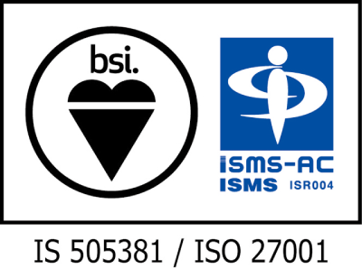 画像:ISO 27001