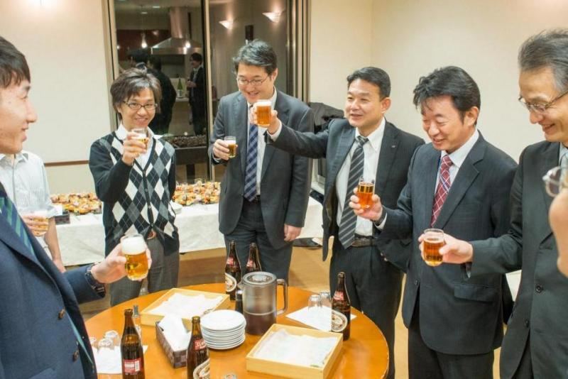 2016年新年会 in名古屋