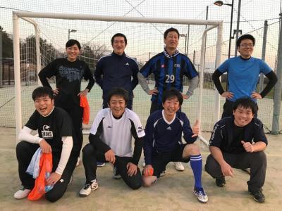 サッカー部の活動(2018/01/21)