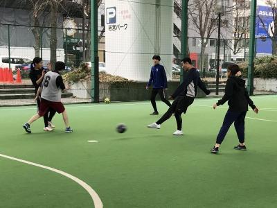 サッカー部の活動(2019/01/12)