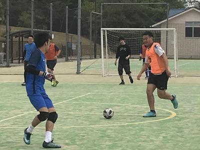サッカー部の活動(2019/05/18)